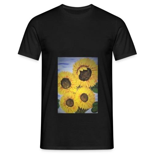 SonnenblumeIMG 20180815 090758 - Männer T-Shirt