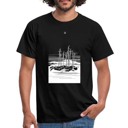 Revenge Capitalism (on black) - Men's T-Shirt