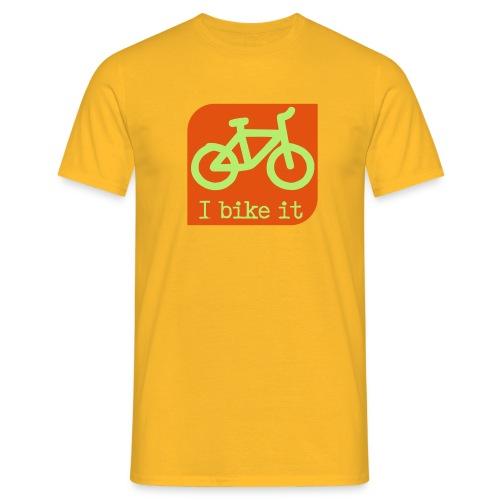 fiets logo - Mannen T-shirt