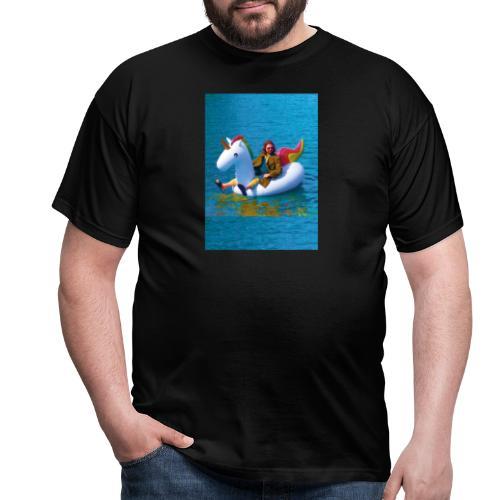 René Unicorn - Mannen T-shirt