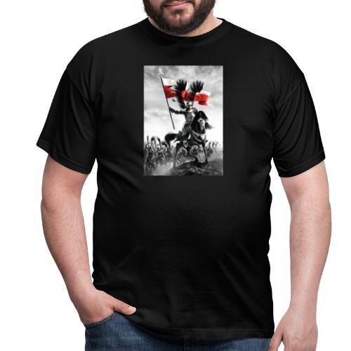 husaz na koniu - Koszulka męska