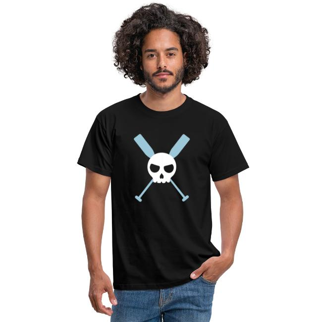 Totenkopf Paddel Drachenboot Kanu Skull 2c