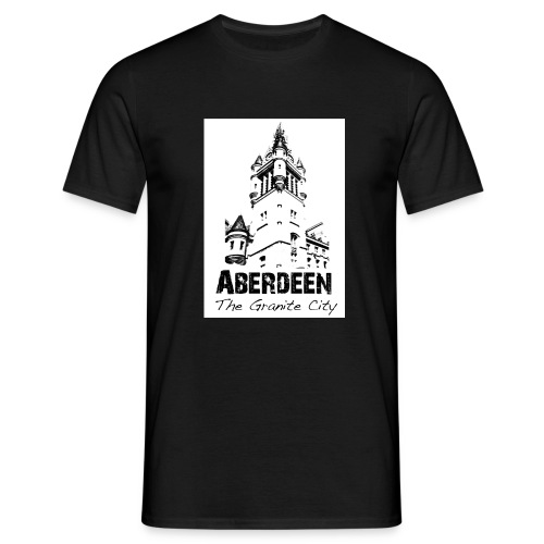 Aberdeen the Granite City - Men's T-Shirt