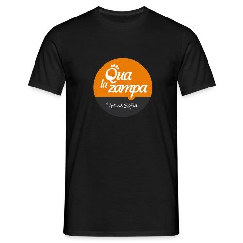 Logo Qua la Zampa - Maglietta da uomo