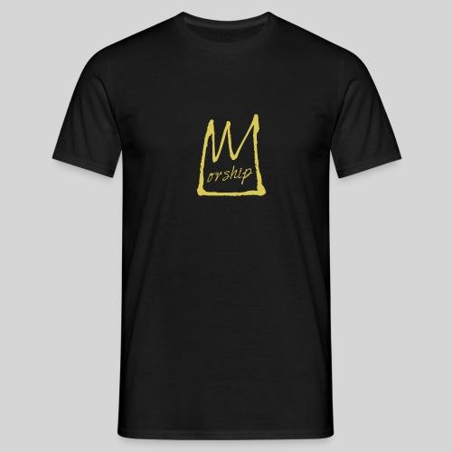 Worship Krone - Lobpreis zu Jesus / Gott - Männer T-Shirt