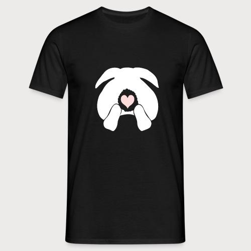 +10 CHF donation bunny butt - Männer T-Shirt