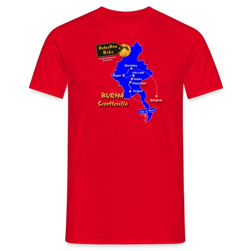 MandalaySPSH-01 - Miesten t-paita