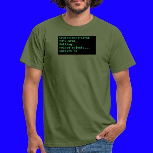 Crafttino21 Booting dising - Männer T-Shirt