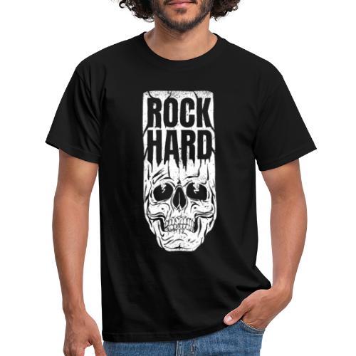 rock hard - T-shirt herr