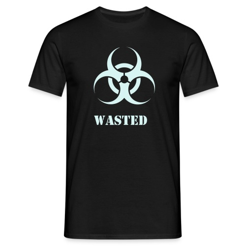 Wasted Biohazard - Men's T-Shirt