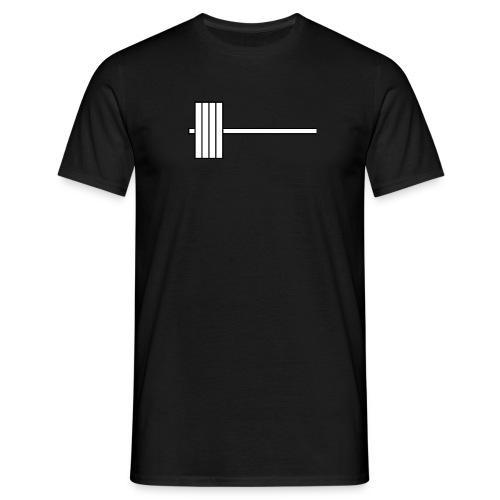 barbell - Men's T-Shirt