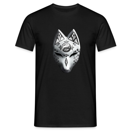 Fox Spirit Mask - Men's T-Shirt