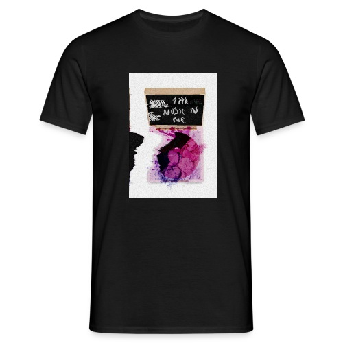 the music in me - Men's T-Shirt