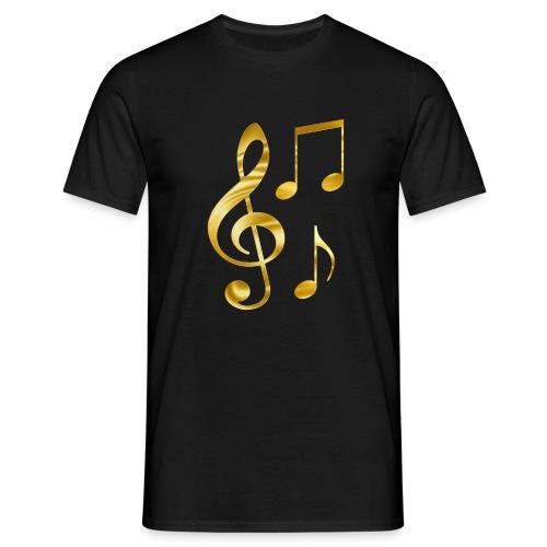 Music Notes - Männer T-Shirt