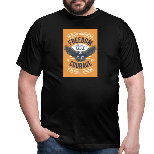 Freedom Eagle - T-shirt Homme