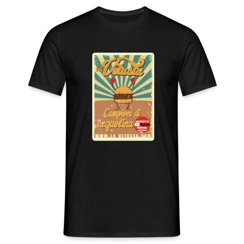 campioni acquolina la Vetusta street food - Maglietta da uomo