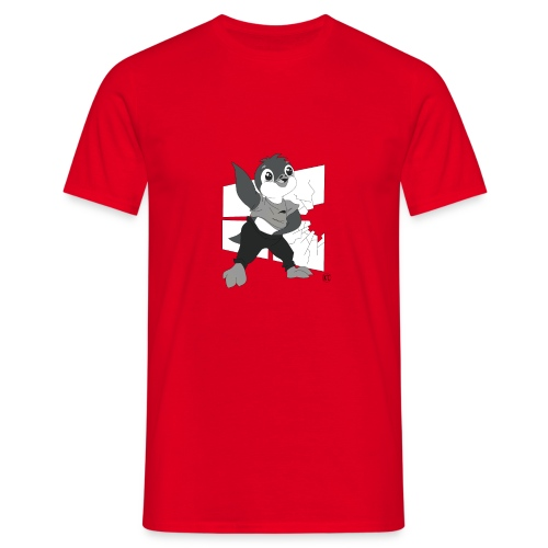 Le pingouin de Nice - T-shirt Homme