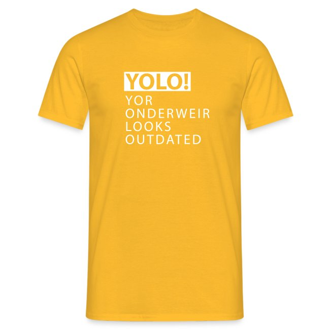 YOLO Yor Onderweir