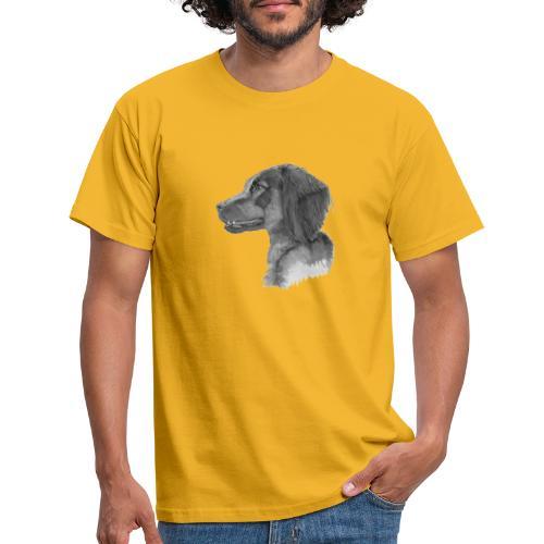 fieldTrialSpaniel - Herre-T-shirt