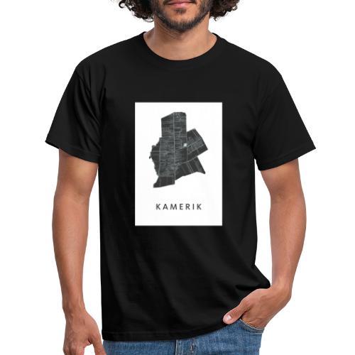 Kamerik op de kaart! - Mannen T-shirt