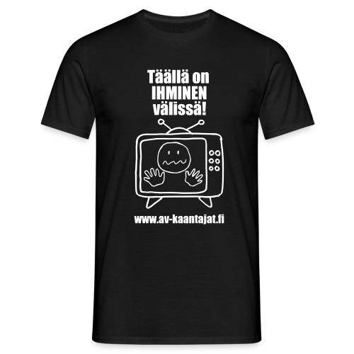 valmis ihminen vaelissae - Miesten t-paita