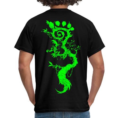 FootMoss green - Men's T-Shirt