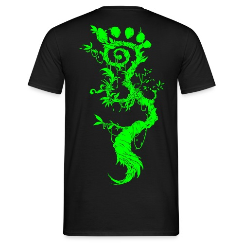 FootMoss green - Men's T-Shirt