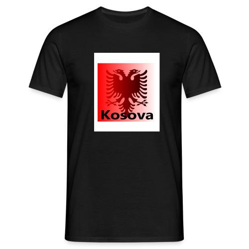 Kosova Kosovo Flag Fahne2 - Männer T-Shirt
