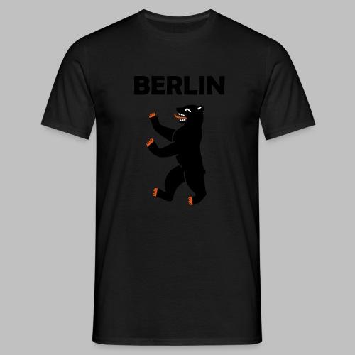 BERLIN - Berliner Bär (Vektor) - Männer T-Shirt