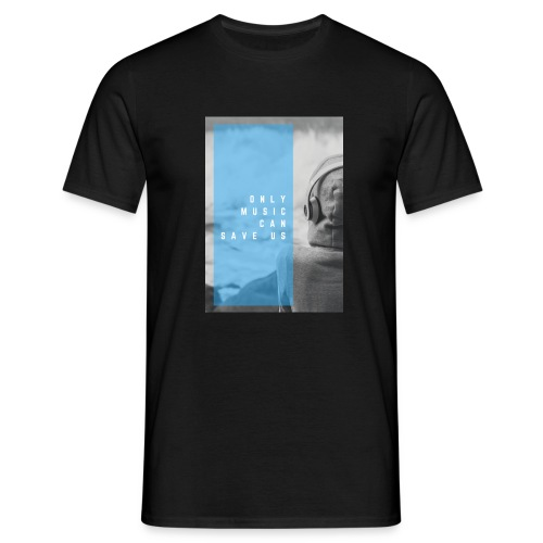 Only Music - Mannen T-shirt