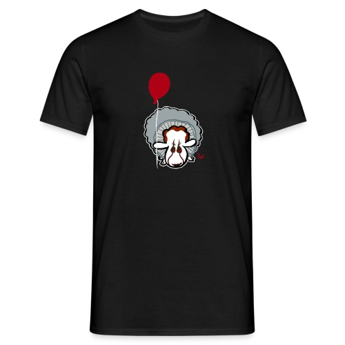 Evil Clown Sheep from IT - Men's T-Shirt