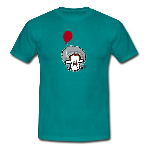 Evil Clown Sheep from IT - T-shirt Homme