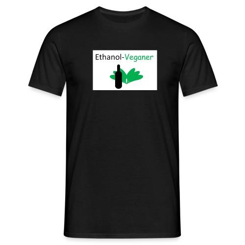 Ethanolveganer - Männer T-Shirt
