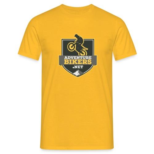 Bikers ver logo v2b png - Men's T-Shirt
