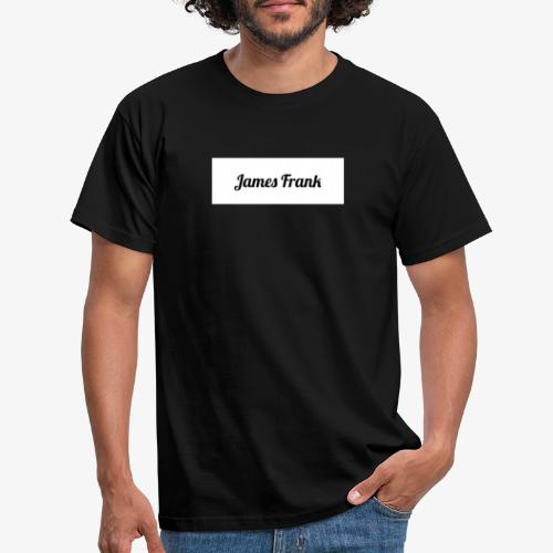 James Frank Name tag - T-shirt herr