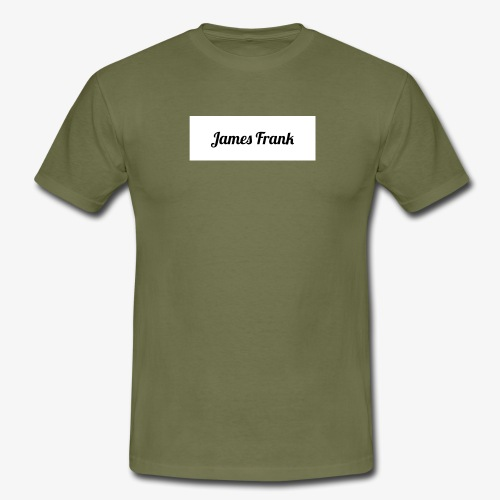 James Frank Name tag - T-shirt herr
