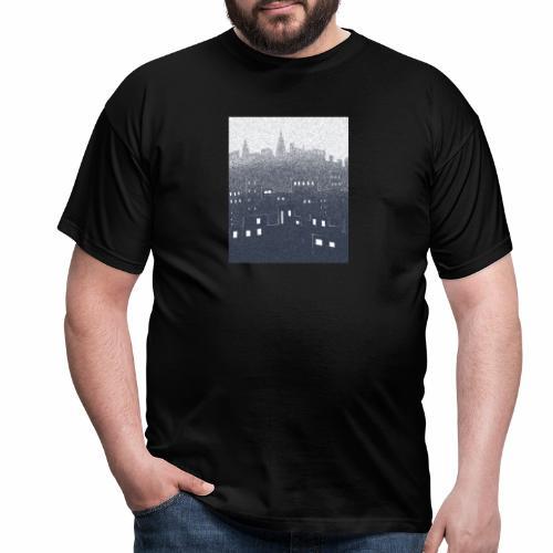 citysnow rectangle - T-shirt Homme