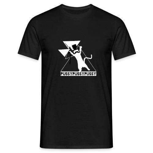 HipsterCatTwo - Männer T-Shirt