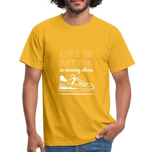 Running Shoes - Männer T-Shirt