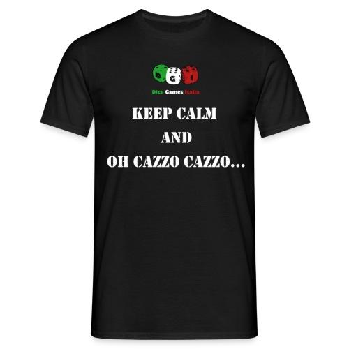 keep calm cazzo png - Maglietta da uomo