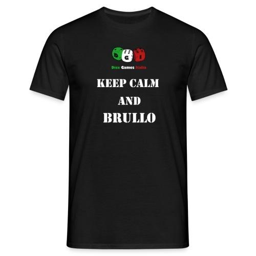 keep calm brullo png - Maglietta da uomo