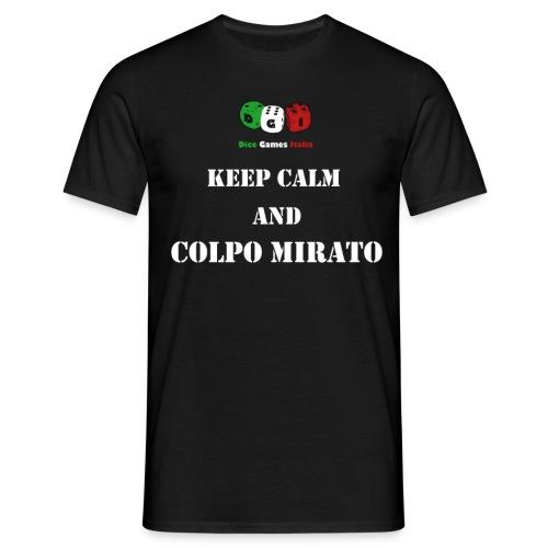 keep calm mirato png - Maglietta da uomo