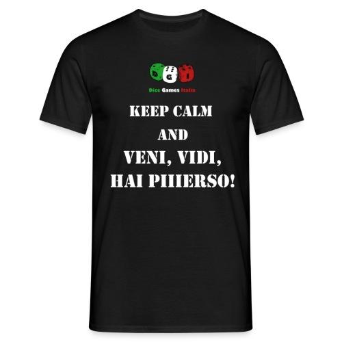 keep calm piiierso png - Maglietta da uomo