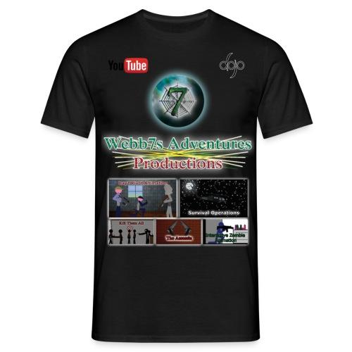 Webb7s Adventures Official T Shirt - Men's T-Shirt