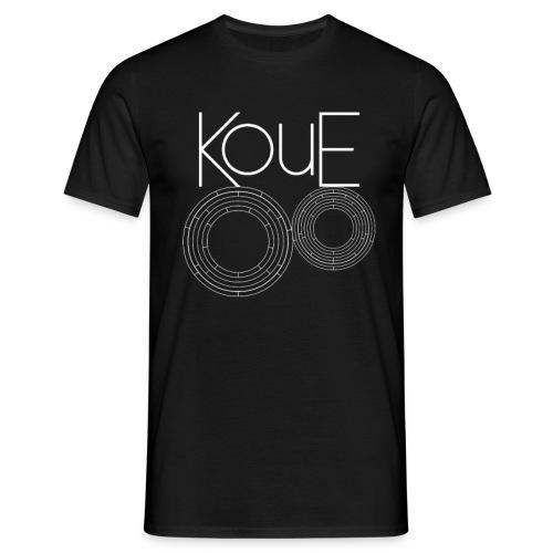 koue shirt logo coord mid fix png - Männer T-Shirt