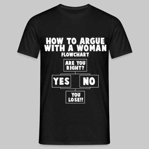 Flowchart T Shirt - Men's T-Shirt