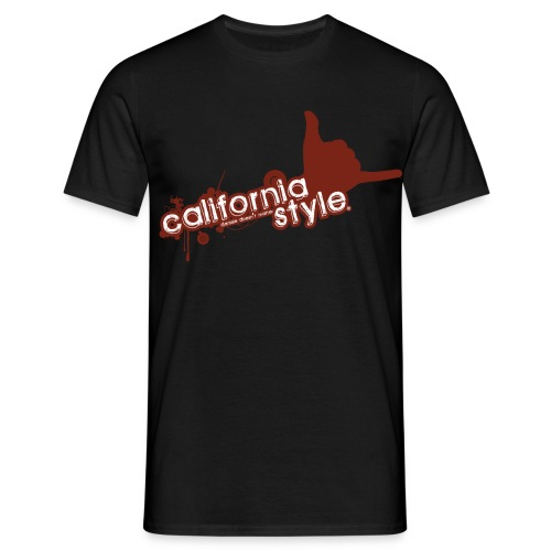californiared2 - Maglietta da uomo