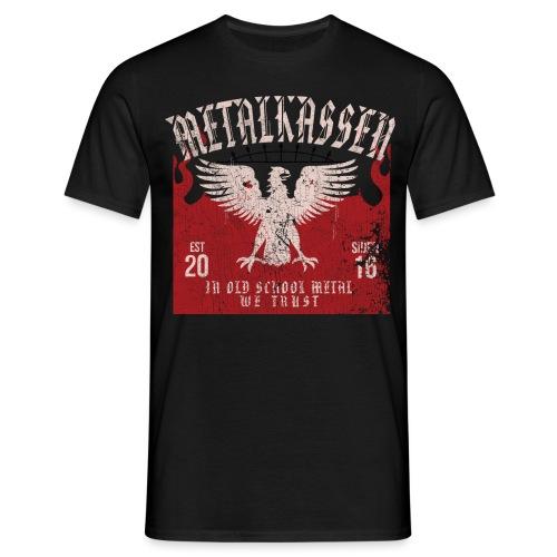 metalny2017 png - Herre-T-shirt