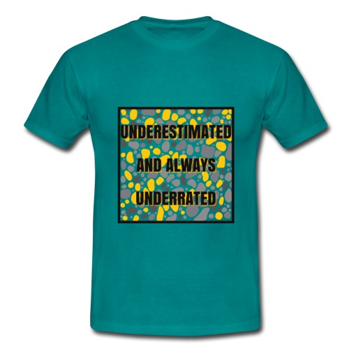we made it lyrics block print - Men's T-Shirt