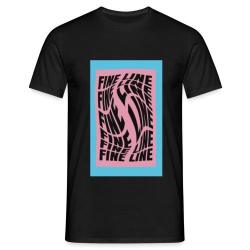 fine line print - Men's T-Shirt